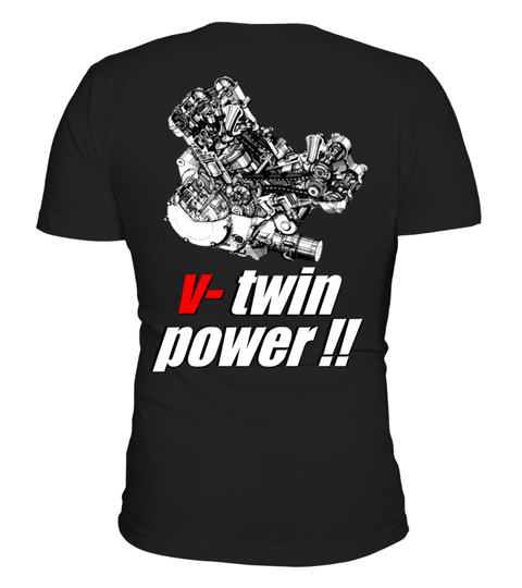 T-Shirt vtwin power | Teezily