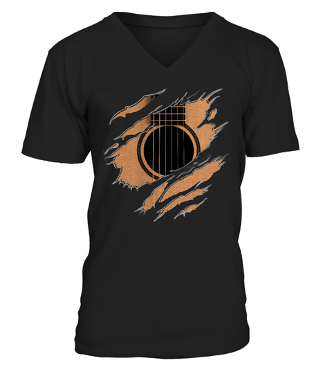 Guitar Inside T-shirt | Teezily