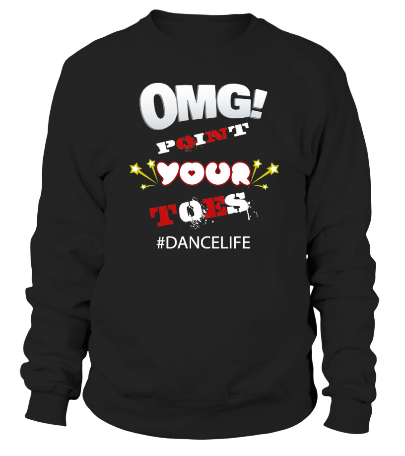 052ad1548 Funny Dance Teacher OMG Point Your Toes - T-shirt | Teezily