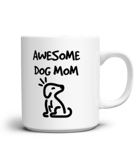 Awesome-dog-mom-mug