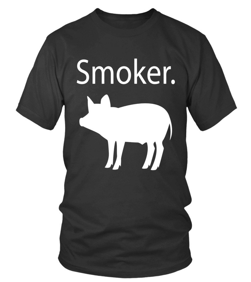 b41c20a5 PIG SMOKER T-SHIRT Funny Grilling Shirt For Dad Fathers Day - T-shirt