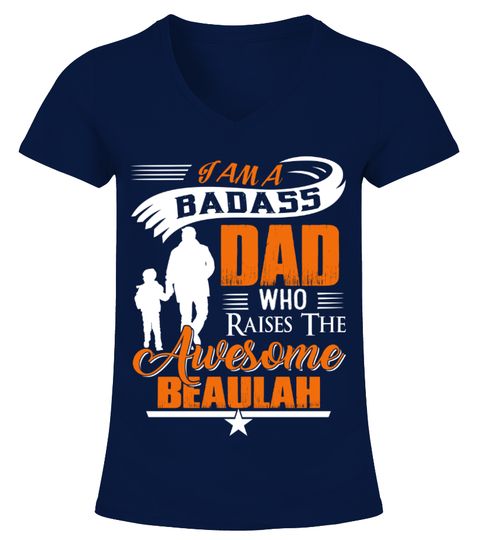 Badass Dad Who Raise Beaulah T-shirt | Teezily