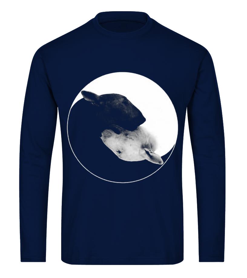 12de056a BULL TERRIER YIN YANG - T-shirt   Teezily
