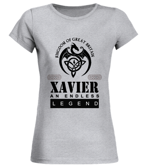 Camiseta THE LEGEND OF THE ' XAVIER ' | Teezily
