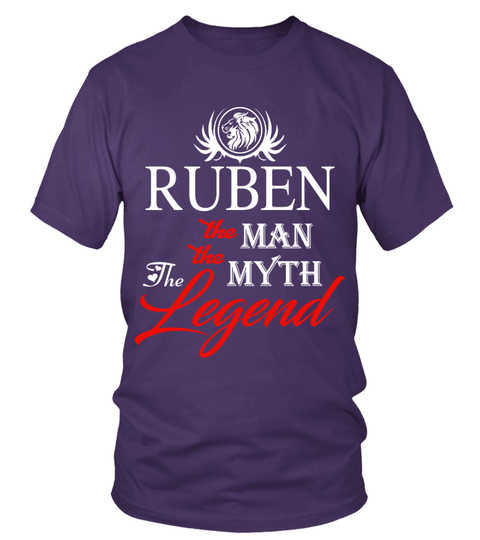 T-shirt RUBEN   the man the myth the legend | Teezily