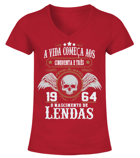 T-Shirt A vida começa aos 1964-shirt | Teezily