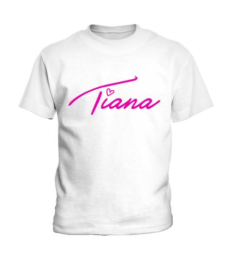 Camiseta Tiana Pink Kid T-Shirt   Teezily