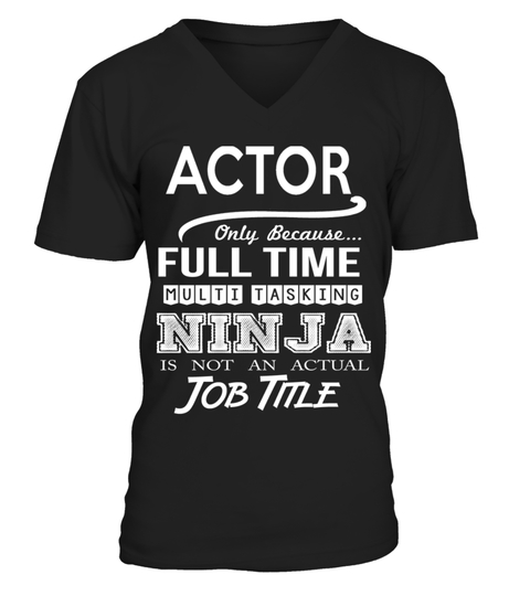 ACTOR T-shirt | Teezily