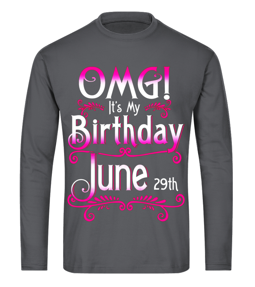 KINGS ARE BORN IN JUNE BIRTHDAY BOY GEMINI CANCER Mens Charcoal Hoodie