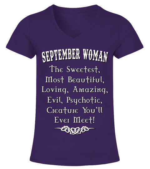 SEPTEMBER WOMAN T-shirt | Teezily