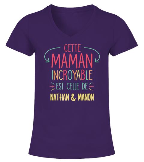 T-shirt CETTE MAMAN INCROYABLE | Teezily