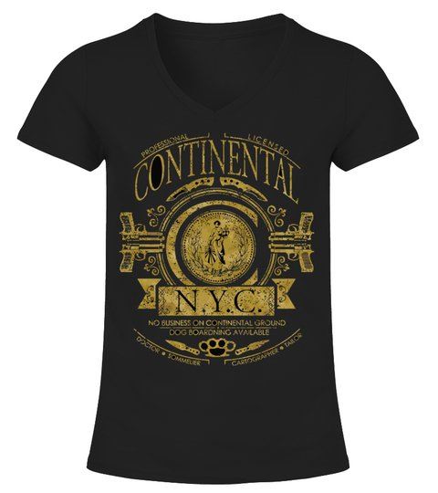 Camiseta The Continental John Wick | Teezily