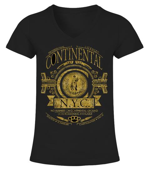 T-Shirt The Continental John Wick | Teezily