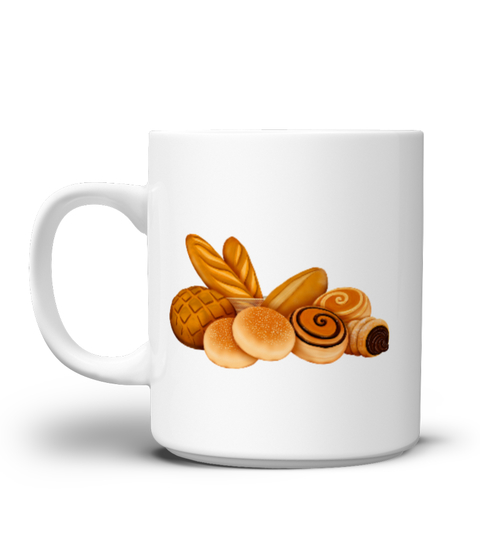 Taza Bread and buns Mug Design | Teezily