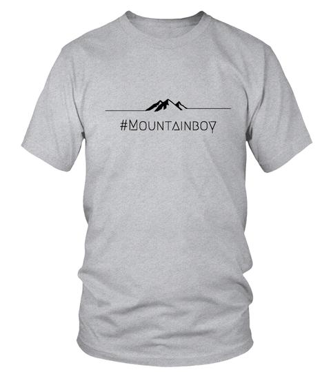 T-Shirt Mountainboy | Teezily