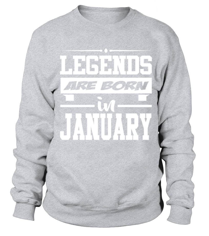 Legends Are Born January Quote T Shirt Birthday Gift T Shirt Teezily