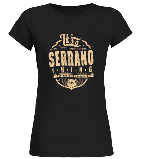 SERRANO THING T-shirt | Teezily