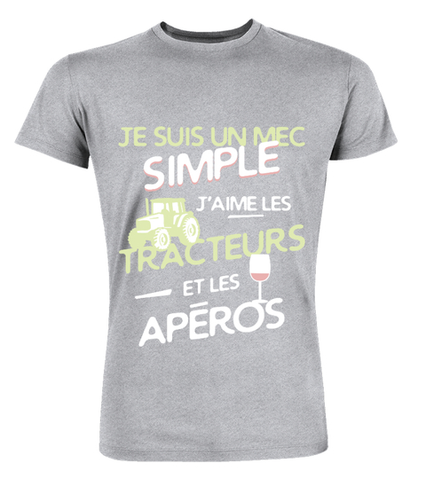 T-shirt Agriculteurs un mec simple | Teezily