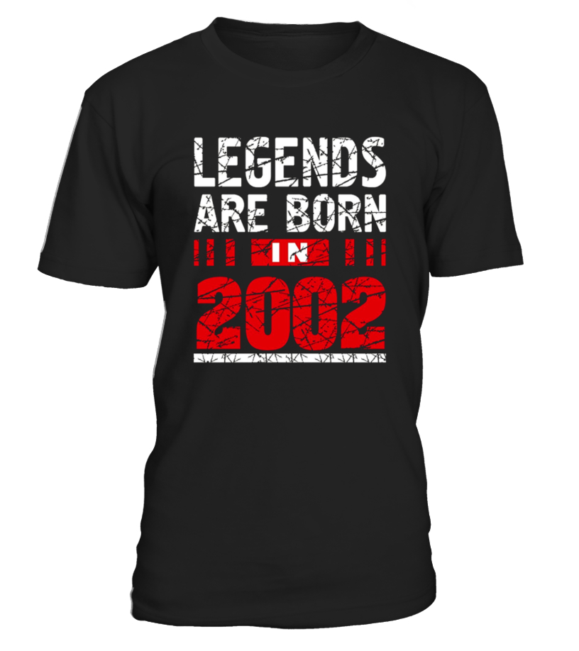 Legends Born In 2002 Shirt 15 Years