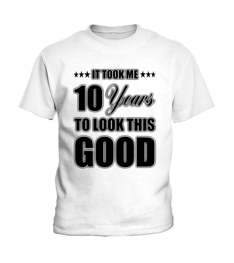 10th Tenth Birthday T Shirt For Kids