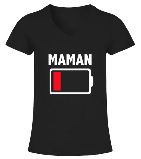 T-shirt Batterie Faible Maman Fille | Cadeau T-Collector® | Teezily