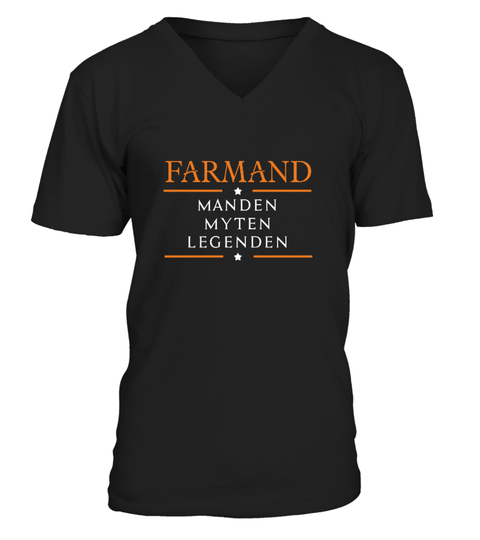 FARMAND Manden Myten Legenden T-shirt | Teezily