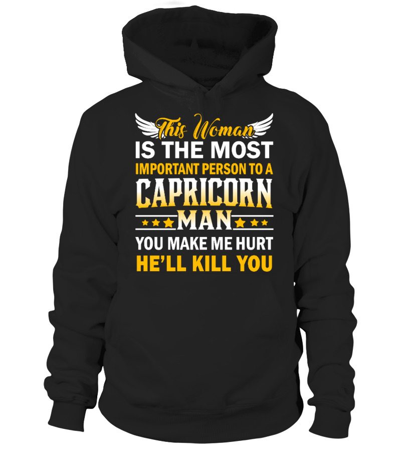 CAPRICORN WOMAN IS MOST IMPORTANT HOODIE - Hoodie | Teezily