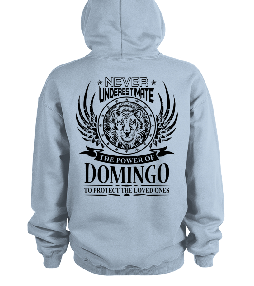 Never Underestimate The Power of Dominga Hoodie Black