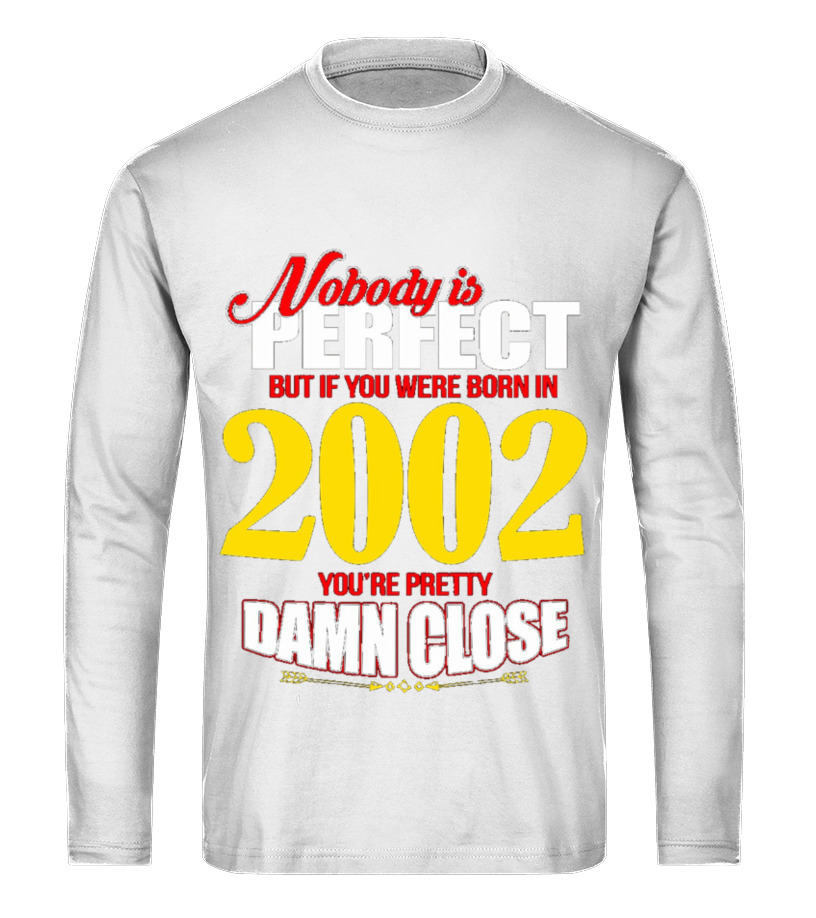 Men S Perfect If You Were Born In 2002 For 14th Birthday T