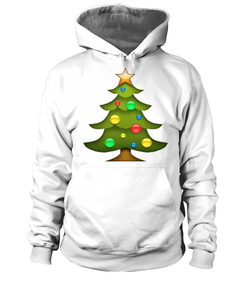 Christmas Tree Emoji.Christmas Tree Emoji Hoodie Teezily