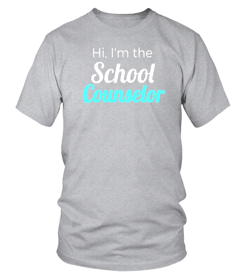 School Counselor T Shirt Back To School Gift Idea