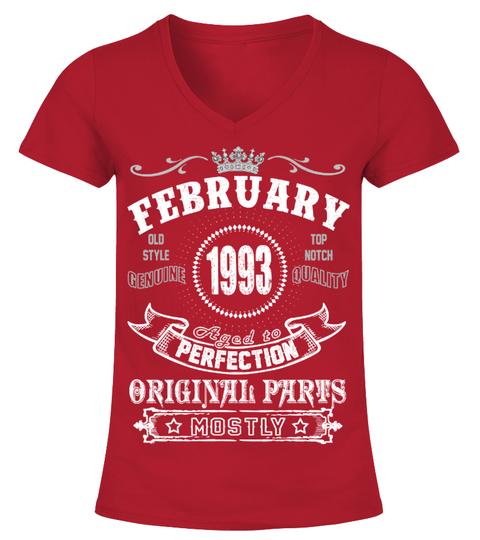1993 February Aged To Perfection Orginal T-shirt | Teezily