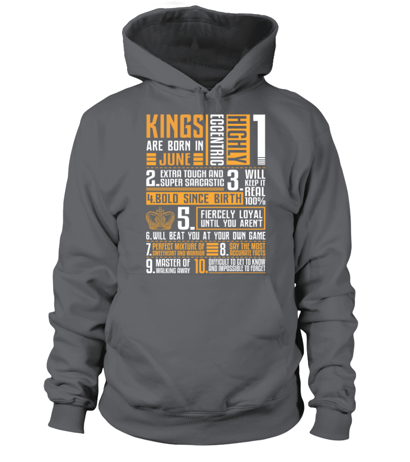 182a8636a Kings Are Born in June | teerover.com - Birthday Shirts & Accessories