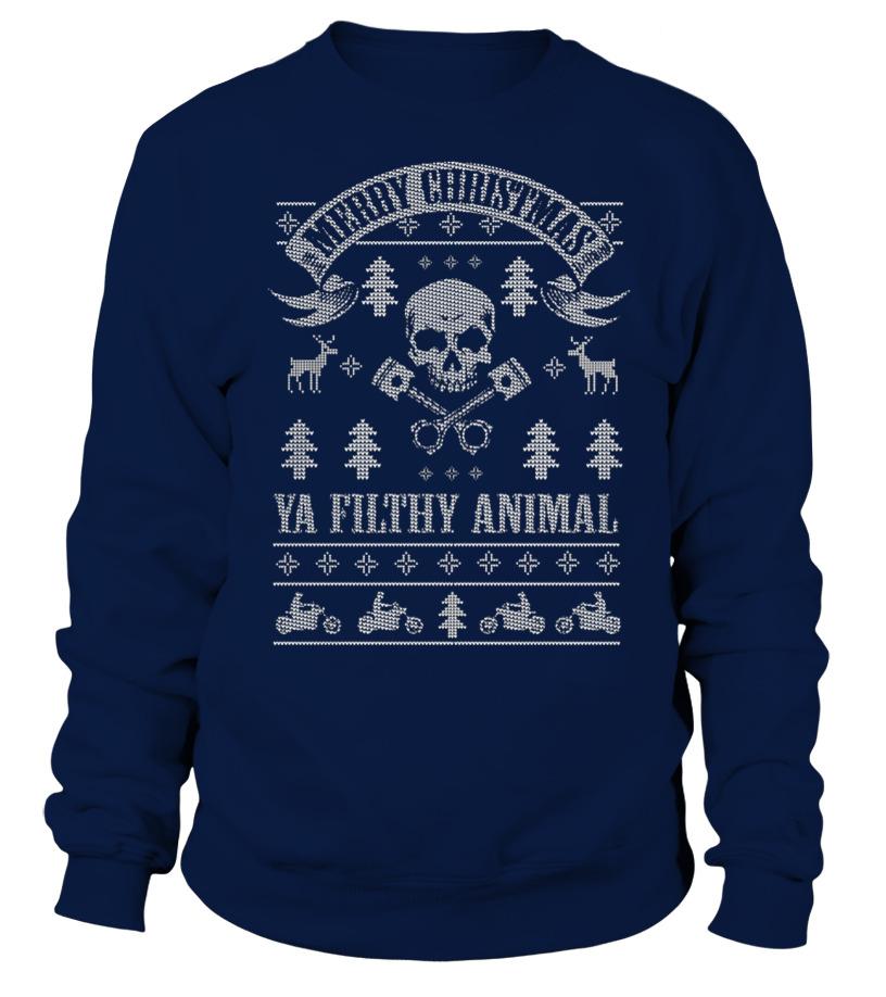 Biker Christmas.Biker Christmas Ugly Sweatshirt Sweatshirt Teezily
