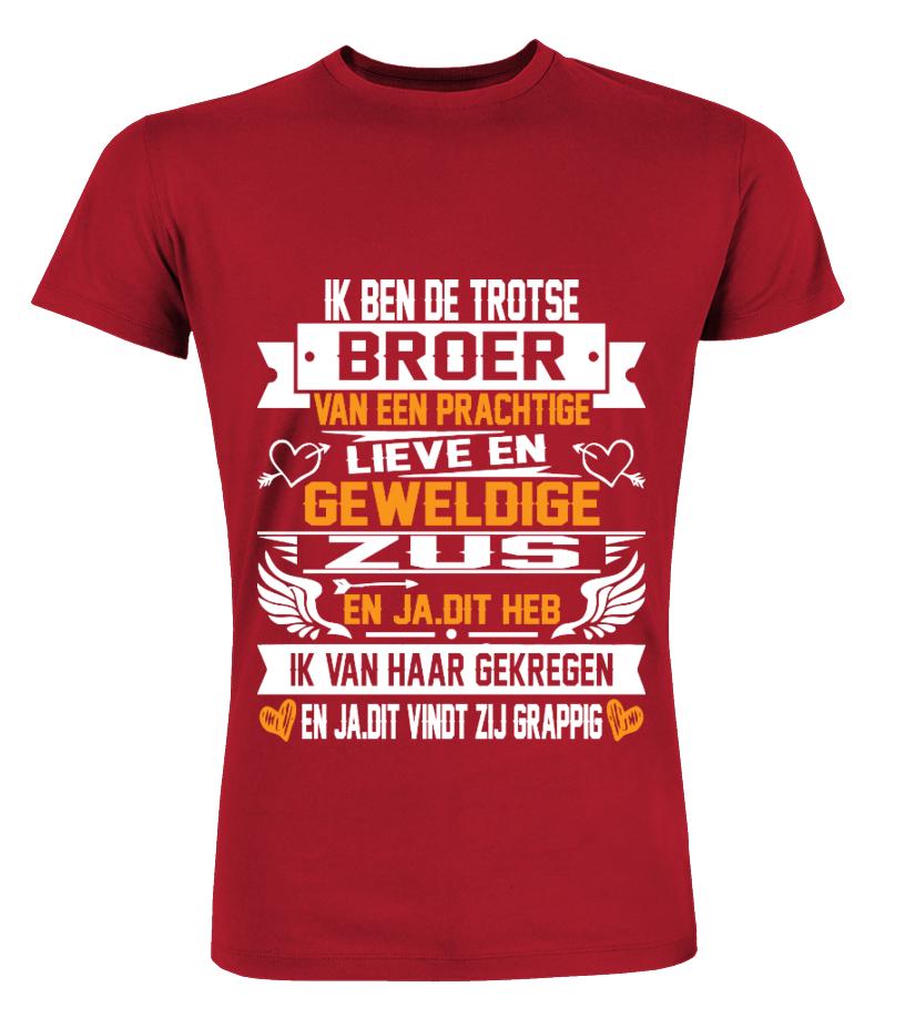 IK BEN DE TROTSE BROER Sweatshirt   Teezily
