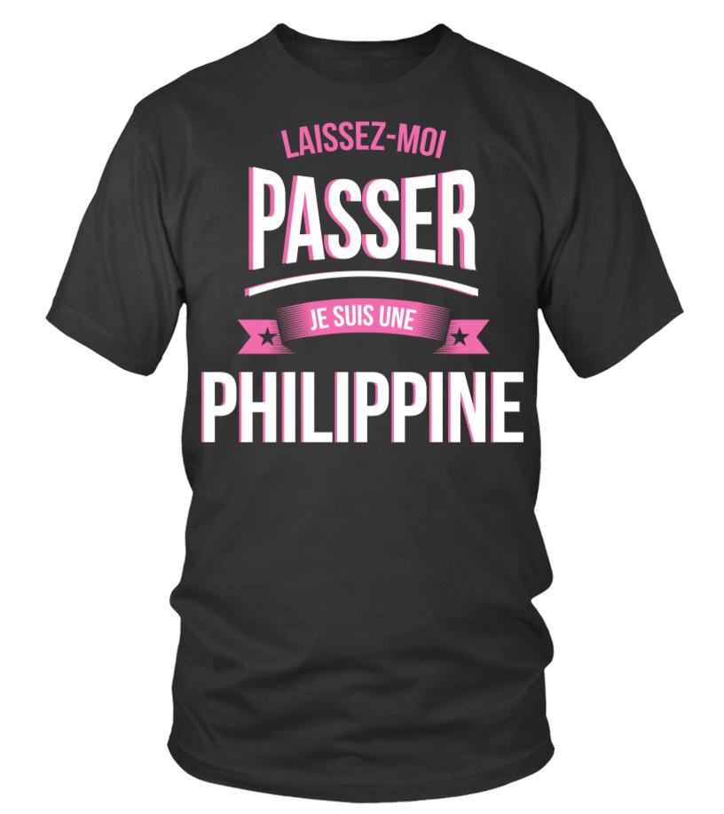 Laissez Moi Passer Philippine Cadeau Noël Anniversaire Humour Noel Drôle Fille Idée Cadeaux Femme