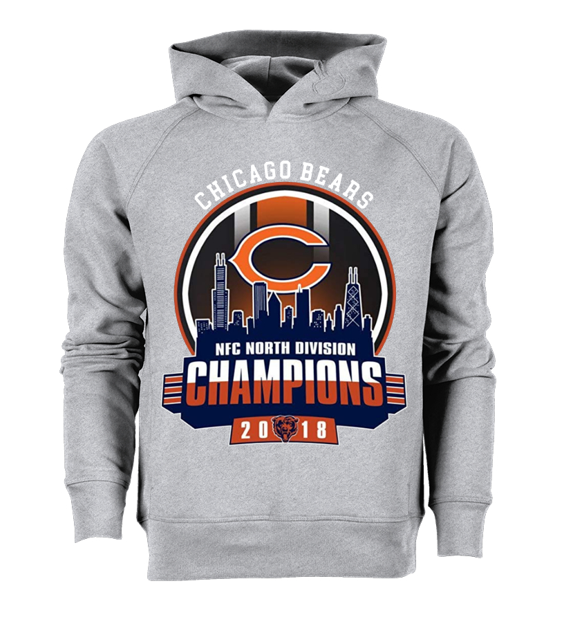 2d39f3daabd24 Chicago-Bears NFC-North-Division Champions 2018 Football Chicago ...
