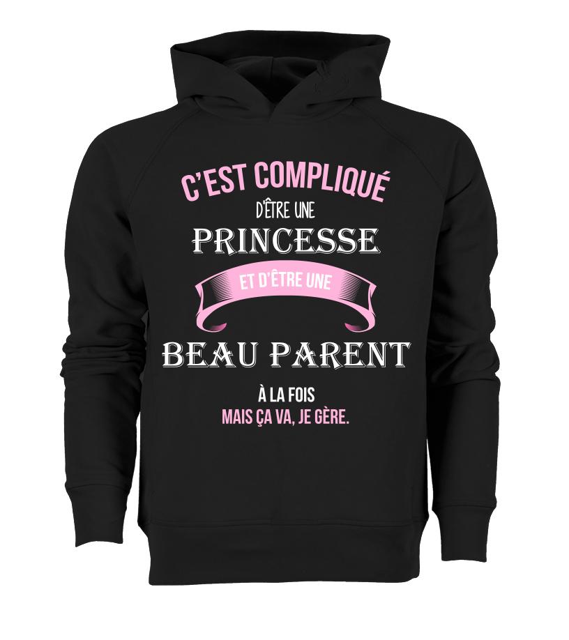 T shirt   C'est compliqué d'être une princesse et Beau parent à la