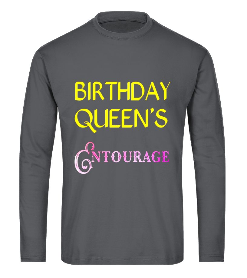 48baa86f3e83 Birthday Queen's Entourage 21st Birthday Shirt - T-shirt | Teezily