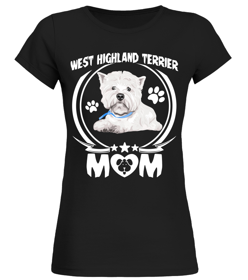 WEST HIGHLAND TERRIER DOG GREAT CHILDS GIFT PUPPY PERSONALISED KIDS T-SHIRT
