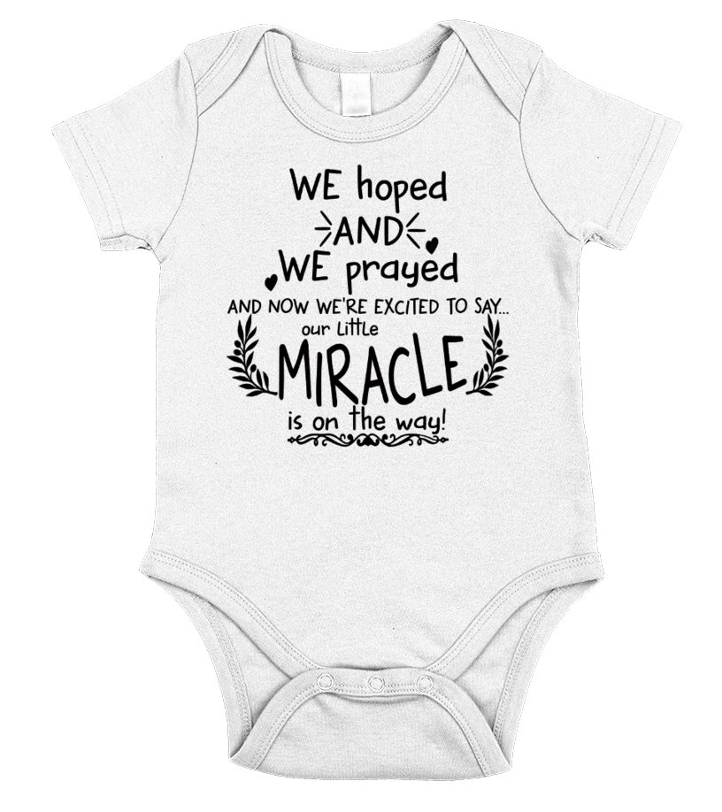 Our Little Miracle Is On The Way Only For Pregnant Lady