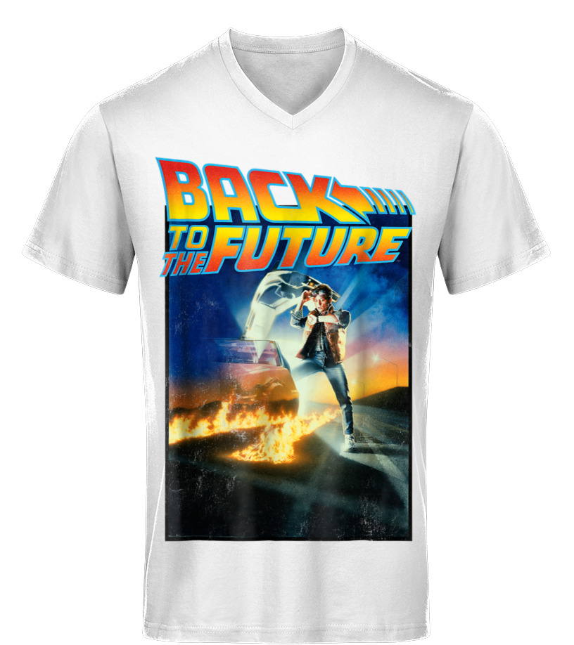 f459c20d3 Back To the Future Movie Poster Graphic T-Shirt - T-shirt | Teezily