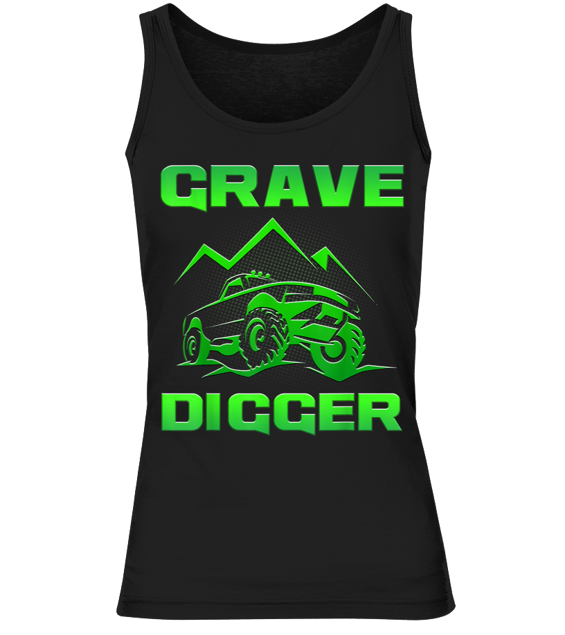 Monster Truck Grave Digger Racing Shirt Birthday Party Gift