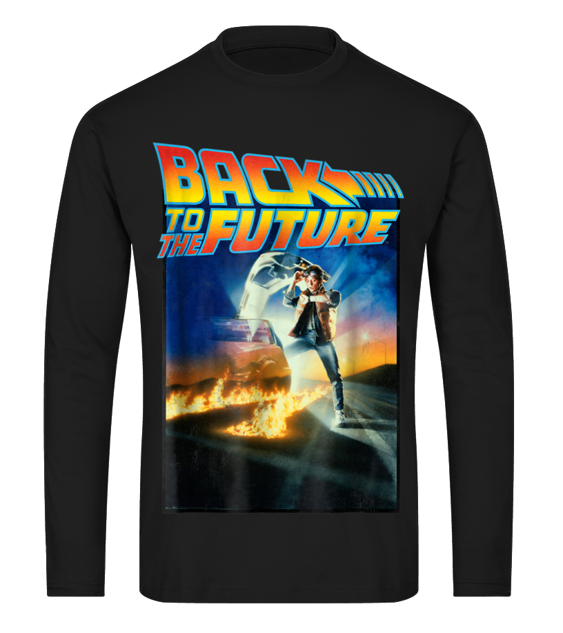 0e4544d80 Back To the Future Movie Poster Graphic T-Shirt - Hoodie | Teezily