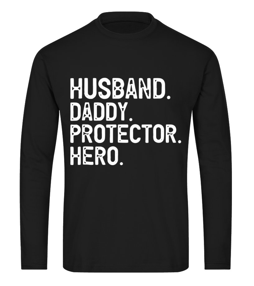 2839ead7 Mens Husband Daddy Protector Hero T-Shirt Father's Day Gift - T ...