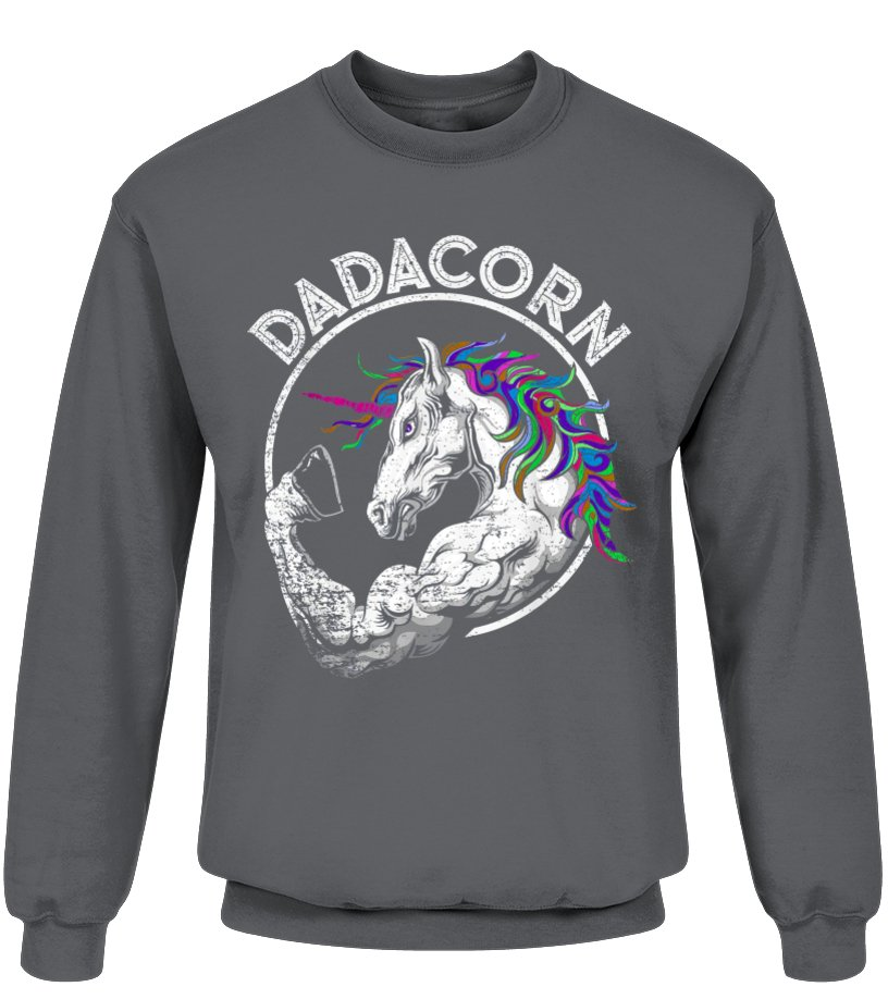 c520e3c65 Dadacorn T Shirt Unicorn Muscle Dad - Baby Fathers Day Gift | teerover.com  - Birthday Shirts & Accessories