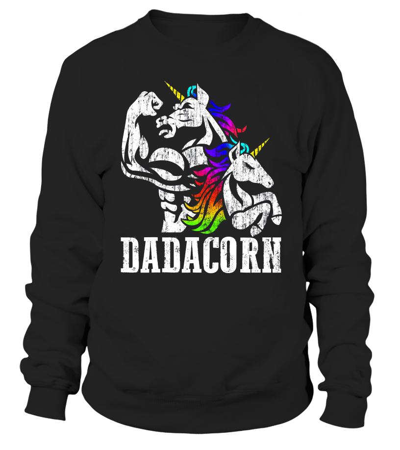 392f53469 Dadacorn T Shirt Muscle Unicorn Dad Baby Fathers Day Gift - T-shirt ...