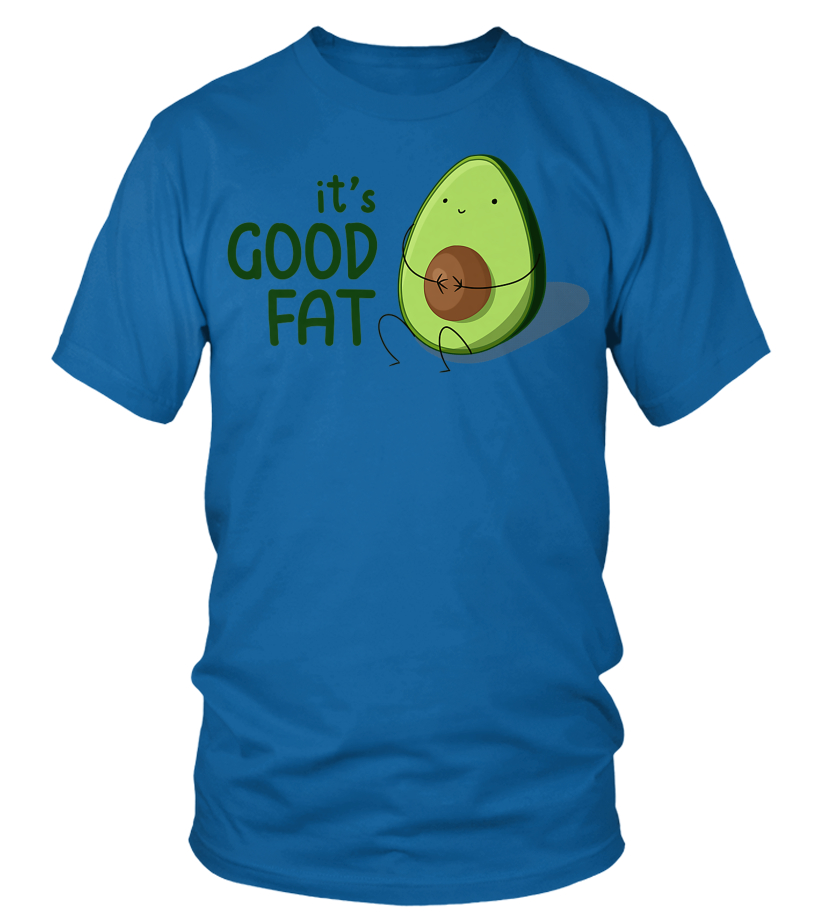73175f54ce50 Mens Cute Kawaii Avocado Good Fat Premium T-Shirt - T-shirt