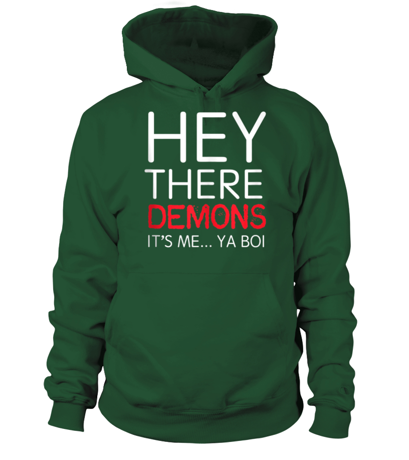 BuzzFeed Unsolved Hey There Demons Boi Tank Top - T-shirt