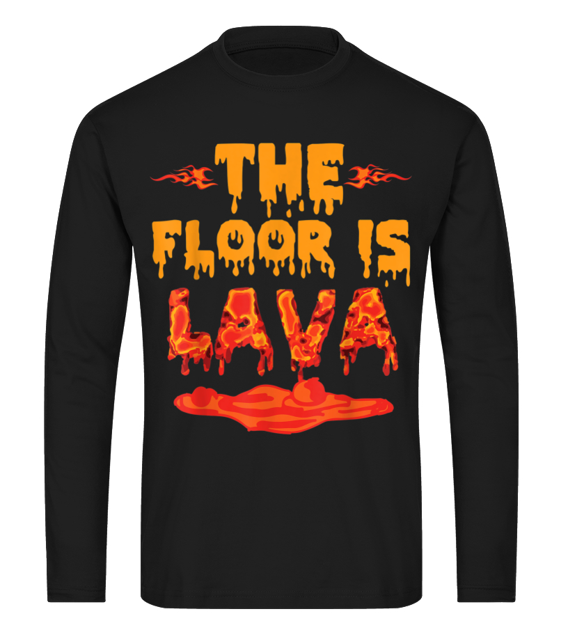 Gift Present Funny Game Meme Floor is Lava Kids T-Shirt Pick Colour and Size